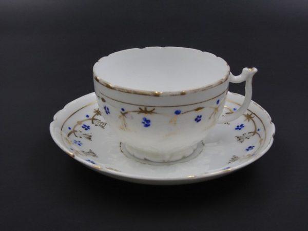 Чайная пара Кузнецов Дулево до 1917 года