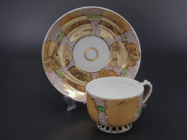 Чайная пара Кузнецов в Риге до 1917 года