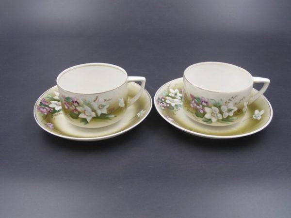 Чайная пара Вербилки СССР