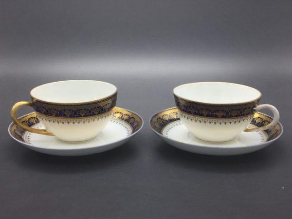 Чайные пары фарфор Кузнецов до 1917 года