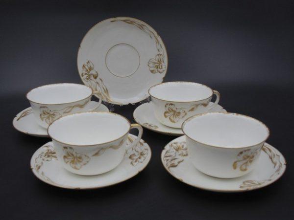 Редчайшие коллекционные чайные пары с маркой Корниловых 1884-1917 гг
