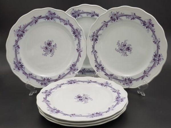 Тарелки с маркой Депо иностранной посуды А. Давыдова въ Санкт-Петербургъ
