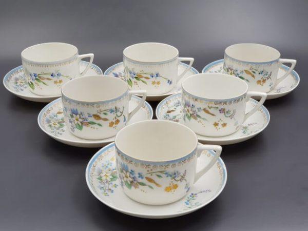 Чайные пары с маркой Волхов 1920-30 годов