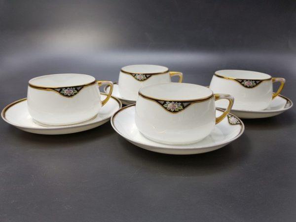 чайные пары с красной маркой Гарднера до 1891 года