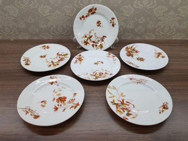 Набор корниловских пирожковых тарелок до 1917