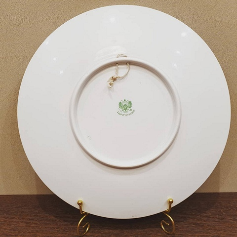 Декоративная тарелка М.С. Кузнецова до 1917 г