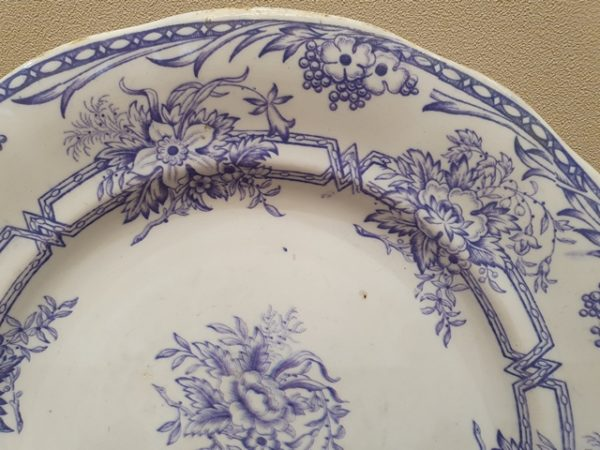 Тарелка с маркой 1878-1910 годов фабрики Арабия