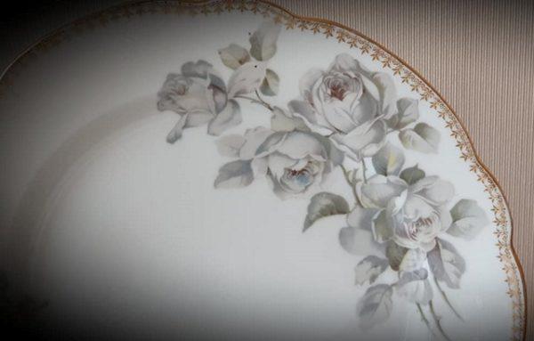 Набор тарелок Кузнецова до 1917 года