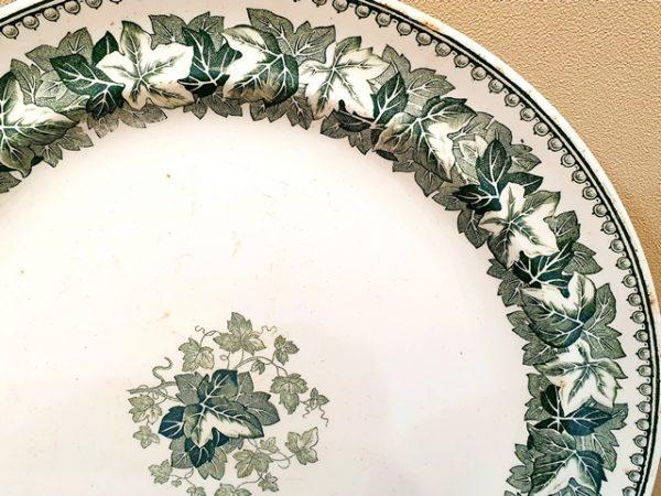Редкая тарелочка Иконникова периода 1867-1874 г