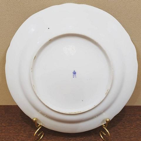 Редкая тарелочка ИФЗ с маркой Павел 1 1796-1801 годы. Вседневный сервиз