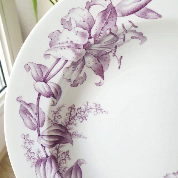 Редкая дореволюционная антикварная тарелка, произведенная для фирмы Мюр и Мерелиз теперь это ЦУМ!!!