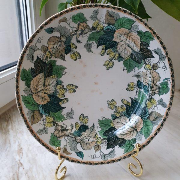 Редкая тарелочка Иконников периода 1867-1874 г