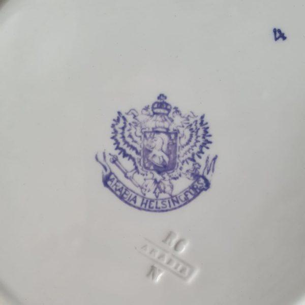 Тарелка Арабия/Arabia фабрика Российской Империи
